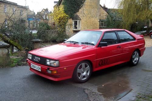 1985 Audi ur quattro Turbo, Fire up the quattro For Hire (picture 4 of 4)