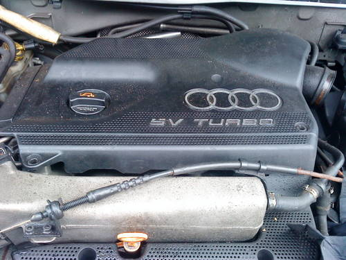 AUDI A3 1.8 20 VALVE  AGU TURBO ENGINE For Sale (picture 1 of 6)