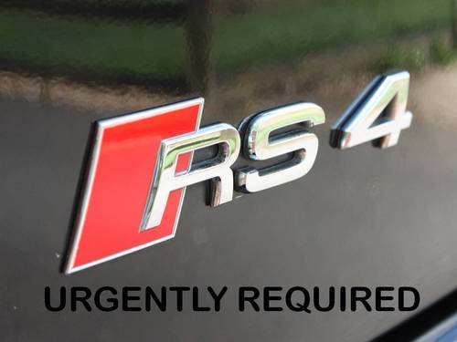 WANTED - Audi RS4's Urgently Required For Stock Wanted (picture 1 of 1)