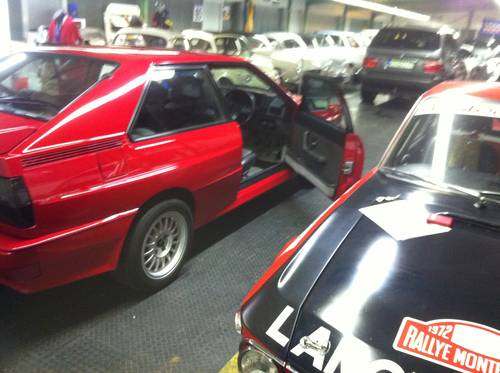 1989 Rare Audi UrQuattro 20 V right hand drive, 440 PS For Sale (picture 3 of 3)