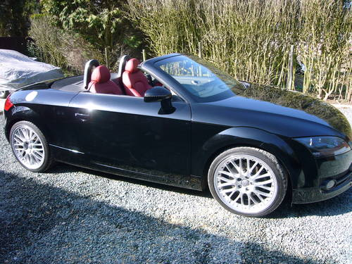 2008 AUDI TT DIESEL ROADSTER 34000 MILES, For Sale (picture 2 of 6)