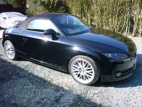 2008 AUDI TT DIESEL ROADSTER 34000 MILES, For Sale (picture 6 of 6)