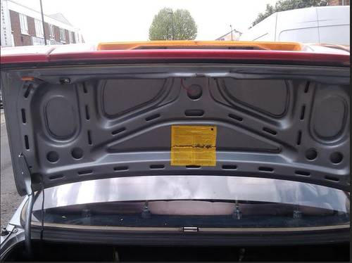 Boot Lid for Audi 90 cd in Excellent Condition SOLD (picture 5 of 6)