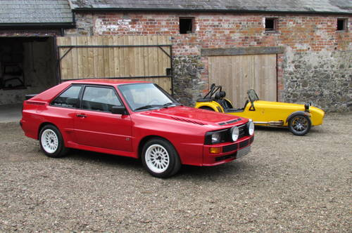 1986 SWB Audi Quattro sport, Similar wanted for commission sale. Wanted (picture 1 of 1)