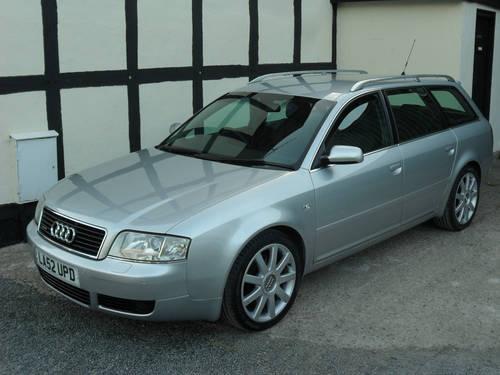 2003 Audi A6 Avant 25 Tdi Quattro Sport Fully Loaded Sold Car