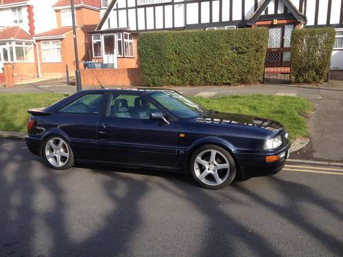 1990 Cherished Audi Coupe 2.3E For Sale (picture 1 of 6)