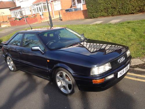 1990 Cherished Audi Coupe 2.3E For Sale (picture 5 of 6)