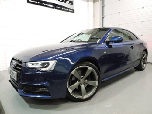 2013 Audi A5 2.0 TDI Black Edition 2dr For Sale (picture 1 of 6)
