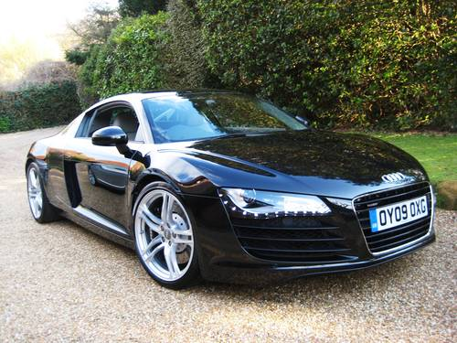 2009 Audi R8 Quattro R Tronic With Only 8,000 Miles From New For Sale (picture 2 of 6)