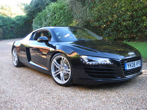2008 Audi R8 Quattro 6 Speed Manual With Only 34,000 Miles For Sale (picture 2 of 6)