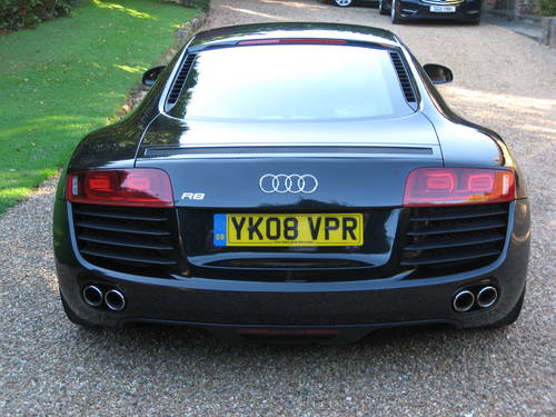 2008 Audi R8 Quattro 6 Speed Manual With Only 34,000 Miles For Sale (picture 6 of 6)