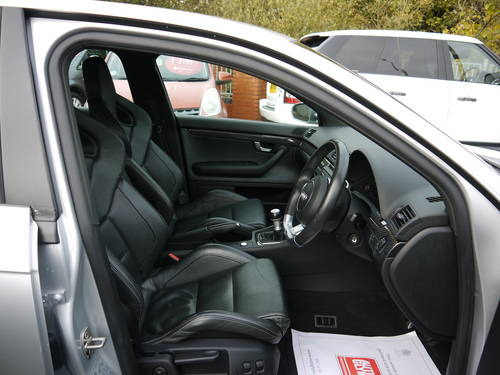 Audi RS4 QUATTRO BUCKET SEATS FASH 2007 07 LIGHT SILVER For Sale (picture 6 of 6)