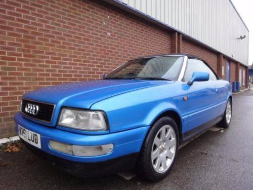 2000 AUDI CABRIOLET 2.6 2dr CONVERTIBLE For Sale (picture 1 of 6)