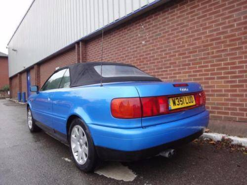 2000 AUDI CABRIOLET 2.6 2dr CONVERTIBLE For Sale (picture 3 of 6)