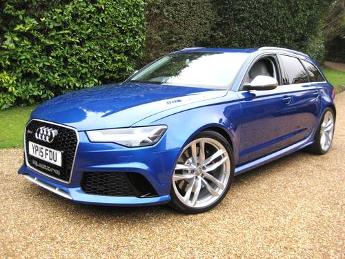 2015 Audi RS6 4.0 V8 Quattro Avant With Only 8,000 Miles For Sale (picture 1 of 6)