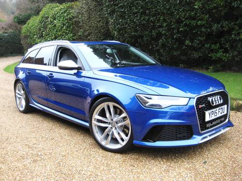 2015 Audi RS6 4.0 V8 Quattro Avant With Only 8,000 Miles For Sale (picture 2 of 6)