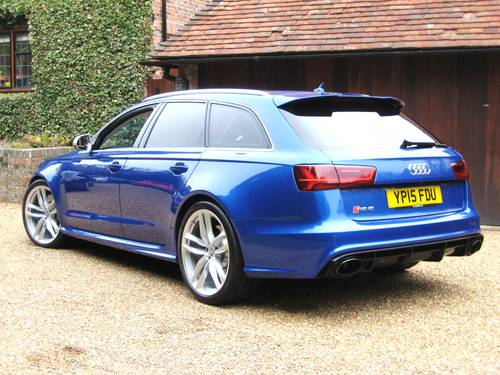 2015 Audi RS6 4.0 V8 Quattro Avant With Only 8,000 Miles For Sale (picture 5 of 6)