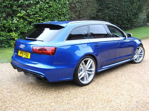 2015 Audi RS6 4.0 V8 Quattro Avant With Only 8,000 Miles For Sale (picture 6 of 6)