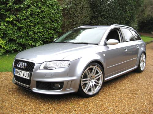 2007 Audi RS4 4.2 V8 Quattro Avant With Just 1 Private Owner For Sale (picture 1 of 6)
