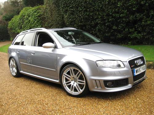 2007 Audi RS4 4.2 V8 Quattro Avant With Just 1 Private Owner For Sale (picture 2 of 6)