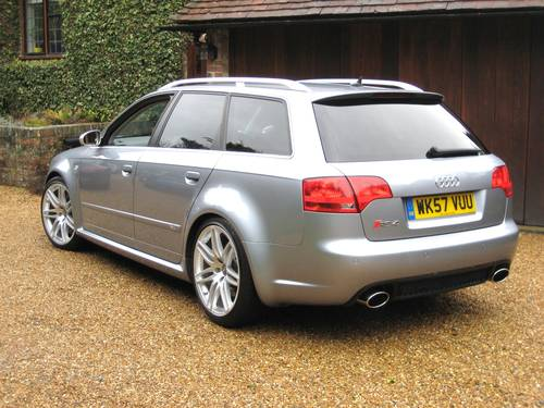 2007 Audi RS4 4.2 V8 Quattro Avant With Just 1 Private Owner For Sale (picture 5 of 6)