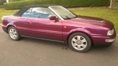 Audi 80 Cabriolet Final Edition 2000/W power hood For Sale (picture 2 of 6)