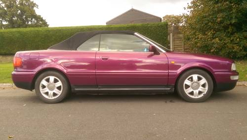 Audi 80 Cabriolet Final Edition 2000/W power hood For Sale (picture 3 of 6)