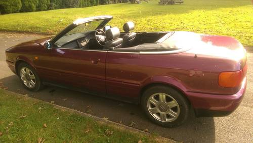 Audi 80 Cabriolet Final Edition 2000/W power hood For Sale (picture 4 of 6)