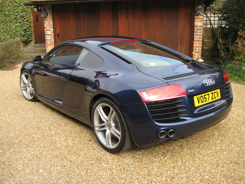 2007 Audi R8 Quattro With Only 30,000 Miles + £10k Of Options For Sale (picture 5 of 6)