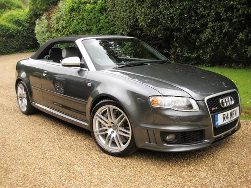2006 Audi RS4 Quattro Cabriolet With Only 18,000 Miles From New For Sale (picture 2 of 6)