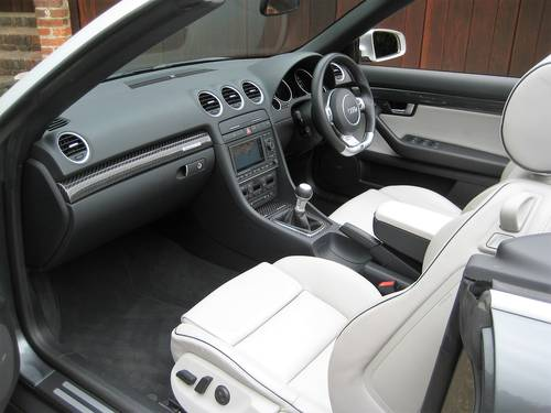 2006 Audi RS4 Quattro Cabriolet With Only 18,000 Miles From New For Sale (picture 3 of 6)