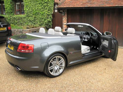 2006 Audi RS4 Quattro Cabriolet With Only 18,000 Miles From New For Sale (picture 6 of 6)
