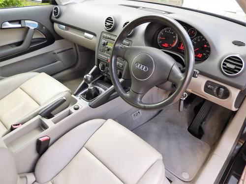 2004 A3 3.2 QUATTRO SPORT 3dr -- 32000mls FULL Audi md s/history  SOLD (picture 2 of 6)