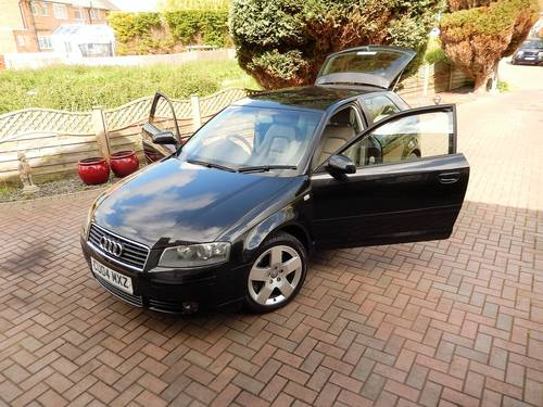 2004 A3 3.2 QUATTRO SPORT 3dr -- 32000mls FULL Audi md s/history  SOLD (picture 6 of 6)