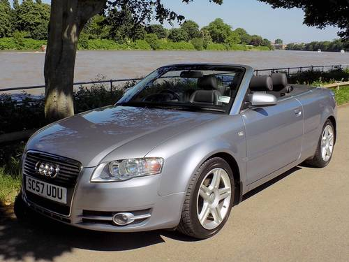 2008 AUDI A4 2.0 TDI 140 SPORT CABRIOLET - LOW MILES! SOLD (picture 1 of 6)