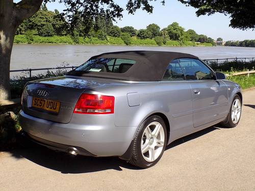 2008 AUDI A4 2.0 TDI 140 SPORT CABRIOLET - LOW MILES! SOLD (picture 2 of 6)