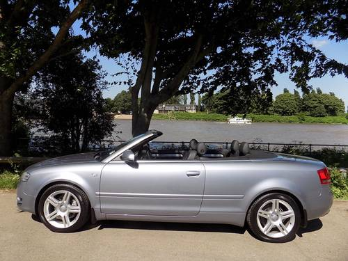 2008 AUDI A4 2.0 TDI 140 SPORT CABRIOLET - LOW MILES! SOLD (picture 5 of 6)