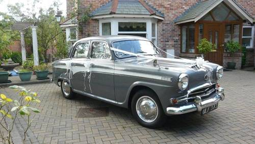 1957 AUSTIN SIX WESTMINSTER AUTO SALOON (p/s) SOLD (picture 1 of 6)