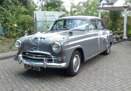 1957 AUSTIN SIX WESTMINSTER AUTO SALOON (p/s) SOLD (picture 2 of 6)