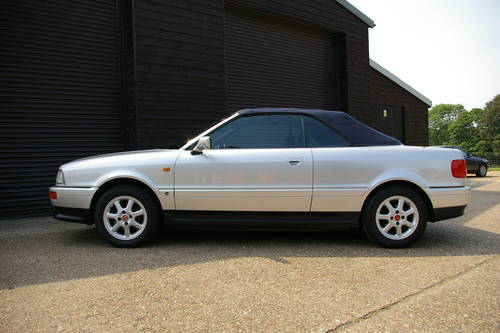 1996 Audi B4 Cabriolet 2.6 2dr Auto (24,654 miles) SOLD (picture 1 of 6)