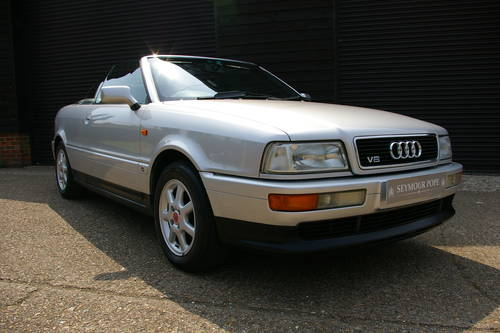1996 Audi B4 Cabriolet 2.6 2dr Auto (24,654 miles) SOLD (picture 2 of 6)