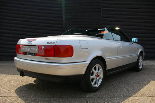 1996 Audi B4 Cabriolet 2.6 2dr Auto (24,654 miles) SOLD (picture 3 of 6)