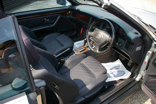 1996 Audi B4 Cabriolet 2.6 2dr Auto (24,654 miles) SOLD (picture 4 of 6)