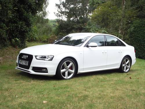 2013 '13 AUDI A4/S4 SPORTLINE 2.0 (143ps) TDi CVT AUTO SOLD (picture 1 of 6)