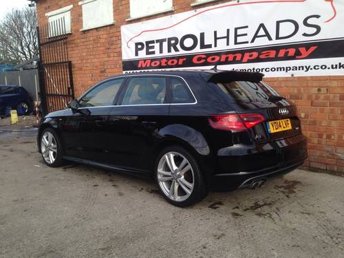 2014 Audi A3 2.0 TDI S Line Sportback 5dr For Sale (picture 2 of 6)
