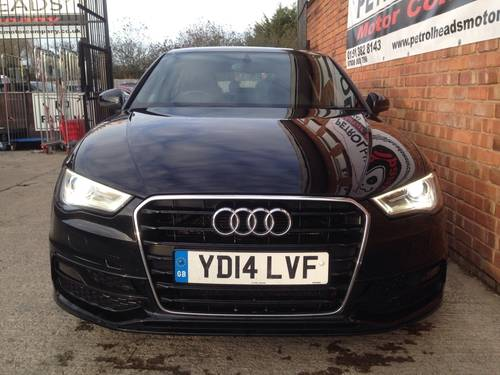 2014 Audi A3 2.0 TDI S Line Sportback 5dr For Sale (picture 3 of 6)