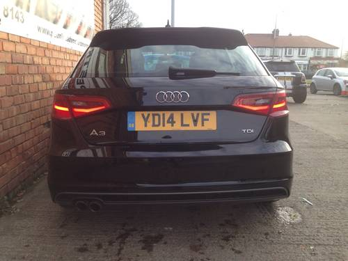 2014 Audi A3 2.0 TDI S Line Sportback 5dr For Sale (picture 4 of 6)
