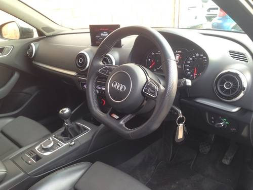 2014 Audi A3 2.0 TDI S Line Sportback 5dr For Sale (picture 5 of 6)