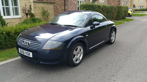 2001 Audi TT 1.8 Quattro Coupe 180 SOLD (picture 1 of 6)