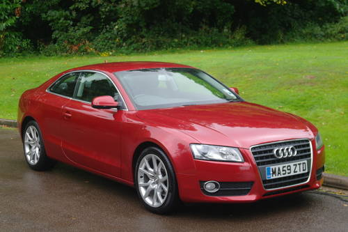 AUDI A5.. 2.0 TDi SPORT.. COUPE.. FSH.. LOVELY EXAMPLE SOLD (picture 2 of 6)